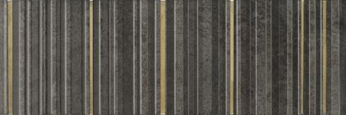 Wonder Single Anthracite Gold I настенная плитка 30x90